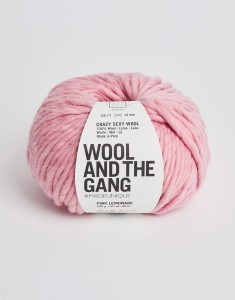 WATG - Crazy Sexy Wool - Pink Lemonade