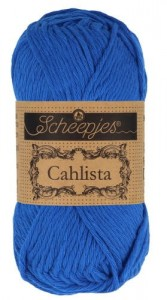 Scheepjes Cahlista - 201 - Electric Blue - 50g
