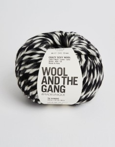 WATG - Crazy Sexy Wool - TV Static