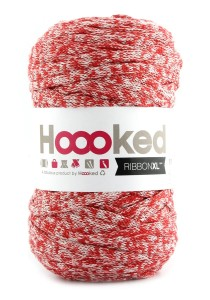Hoooked RibbonXL - Chilli Velvet