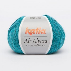 Katia Air Alpaca - turkus - 216