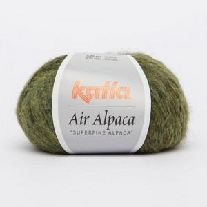 Katia Air Alpaca - zielony - 213