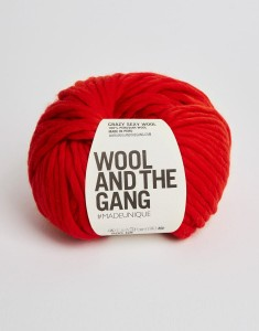 WATG - Crazy Sexy Wool - Lipstick Red