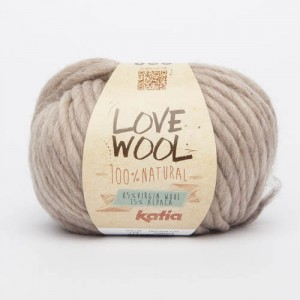 Katia Love Wool - beż - 119