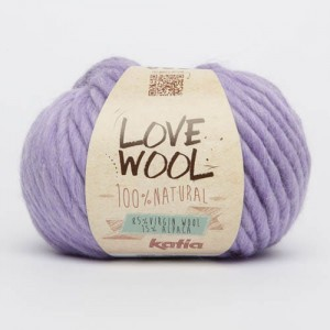 Katia Love Wool - lila - 123