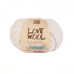 Katia Love Wool - ecru - 100