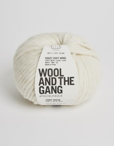 WATG - Crazy Sexy Wool - Ivory White