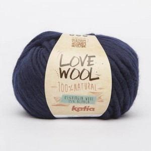 Katia Love Wool - granat - 121