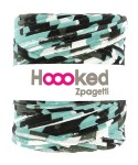 Hoooked Zpagetti  - minty camouflage