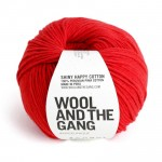 WATG - Shinny Happy Cotton - Lipstick red