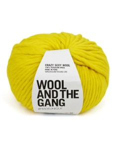 WATG - Crazy Sexy Wool - Big Bird Yellow