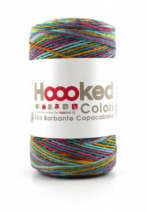 Hoooked Eco Barbante  - Copacabana - 200g