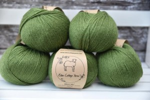 Eden Cottage Yarns Milburn 4ply - Moss