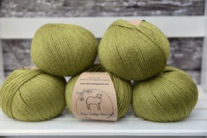 Eden Cottage Yarns Milburn 4ply - Fern
