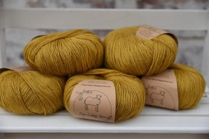 Eden Cottage Yarns Milburn 4ply - Harvest Gold