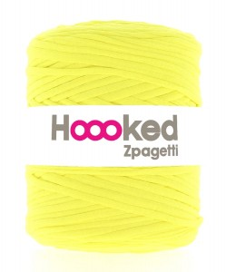 Hoooked Zpagetti  - yellow tennis