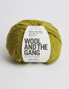 WATG - Crazy Sexy Wool - Moss Green