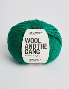 WATG - Crazy Sexy Wool - Emerald Green