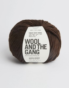 WATG - Crazy Sexy Wool - Wonka Brown