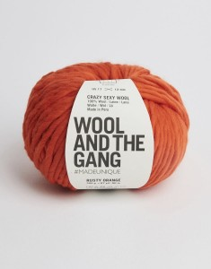 WATG - Crazy Sexy Wool - Rusty Orange