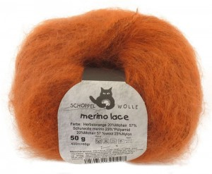 Schoppel Merino Lace - Autumn Orange - 891