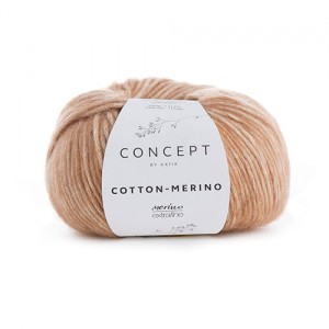 Katia Cotton Merino - camel - 123