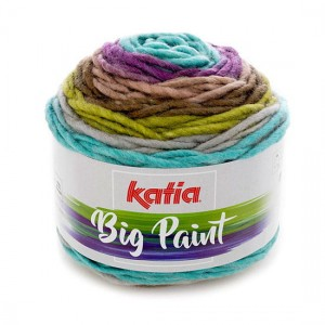 Katia Big Paint - 204 - zielony - lilia
