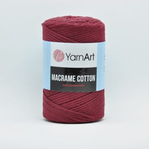 YarnArt Macrame Cotton - 781 - bordowy