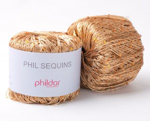 Phildar Sequin - Miedziany - Cuivre