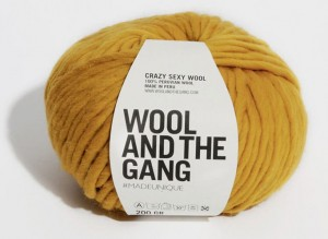 WATG - Crazy Sexy Wool - Mustard Sally