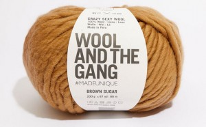 WATG - Crazy Sexy Wool - Brown Sugar