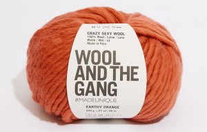 WATG - Crazy Sexy Wool - Earthy Orange