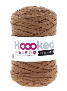 Hoooked RibbonXL - Caramel Brown