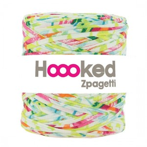 Hoooked Zpagetti  - tropical dress