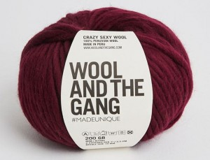 WATG - Crazy Sexy Wool - Margaux Red