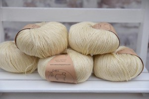 Eden Cottage Yarns Milburn 4ply - Natural