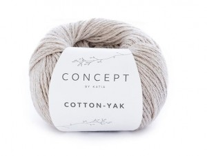 Katia Cotton Yak - 100 - beż