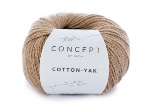 Katia Cotton Yak - 101 - camel