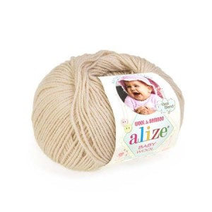 Alize Baby Wool - 310 - miodowy