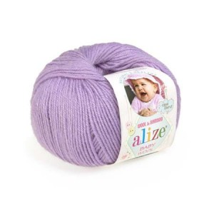 Alize Baby Wool - 146 - lawendowy