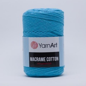 YarnArt Macrame Cotton - 763 - turkus