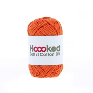 Hoooked Soft Cotton Dk - Amsterdam Orange