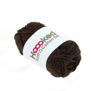 Hoooked Soft Cotton Dk - Havana Brown