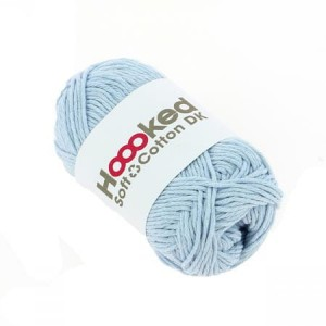 Hoooked Soft Cotton Dk - Dublin Blue