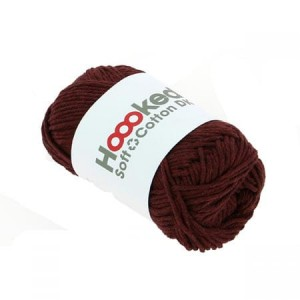 Hoooked Soft Cotton Dk - Bordeaux Red