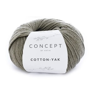 Katia Cotton Yak - 107 - bladozielony
