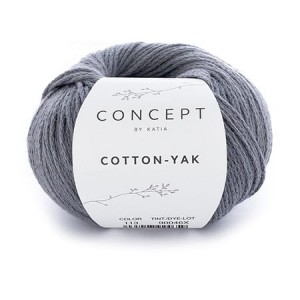 Katia Cotton Yak - 113 - antracytowy