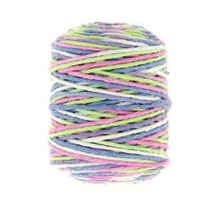 Hoooked Eco Barbante  - Sugar Rainbow - 50g