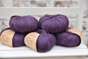 Eden Cottage Yarns Milburn 4ply - Damson