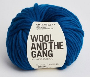 WATG - Crazy Sexy Wool - Curasao Blue